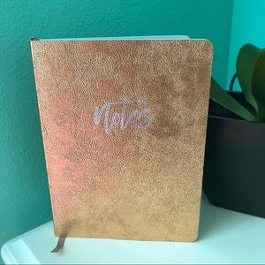 """Other - 6x8"""" Gold Journal"""